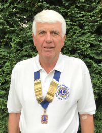 Peter Haggith, President of Loddon Valley Lions 2017-18