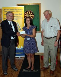 Cheque Presentation to St Michael\\\'s Hospice