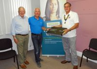Laptop Presentation to Samaritans