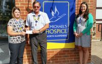 Presentation to St Michael's Hospice